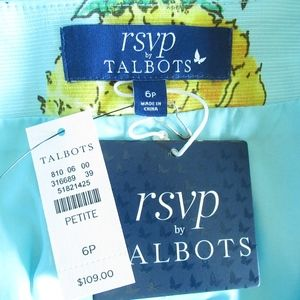 Talbots Skirts - RSVP By Talbots Skirt Pineapple Pleated A Line